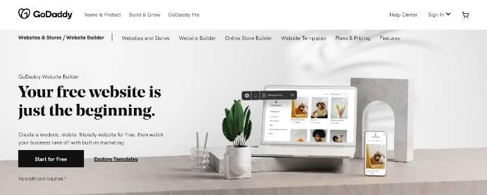 GoDaddy Website Builders